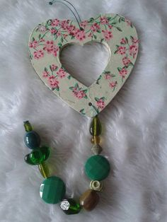 Vintage Style Wooden Heart by Aspirations1805 on Etsy