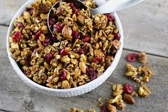 Chewy Honey Coconut Granola