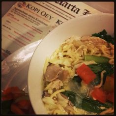 Javanese Style Noodle Soup
