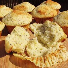 Greek Yogurt Poppy Seed Muffins Allrecipes.com