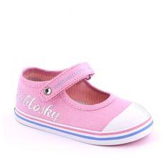 Pantofi sport pentru fetite. Culoare roz. Marca Pablosky.