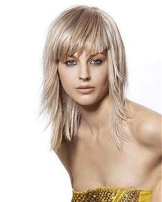 Image result for long hairstyles with Bangs for Women Over 40 with Fine Hair #beautywomenover40
