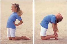 Yoga para Crianças Felizes: A dança da Postura do Camelo