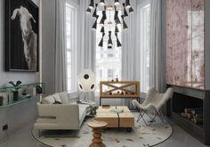 Mezzanine em Notting Hill por Art Buro