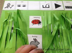 Craft/Retelling Activity to Go With Book, In the Tall, Tall Grass by Denise Fleming (from Speech Room News)