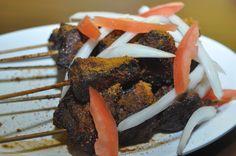 Spiced beef kebabs at Rahama African Restaurant (1924 9th St.) #seeninshaw #shawdc #foodporn