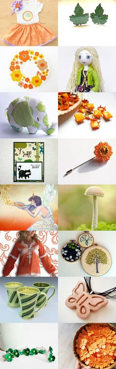 Summer Mood by Irina and Margarita on Etsy--Pinned with TreasuryPin.com