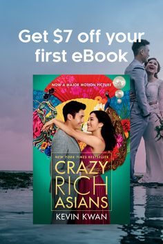Kobo kobobooks on pinterest enter kobos crazy rich asians sweepstakes use promo code crazyrich to get 7 off any fandeluxe Images