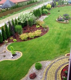 Amazing Fresh Frontyard and Backyard Landscaping Ideas Enjoy collection frontyard styles and give me find your thoughts about this garden design ideas. -Enjoy collection frontyard styles and give me find your thoughts about this garden design ideas. Backyard Garden Design, Garden Landscape Design, Backyard Ideas, Landscape Designs, Landscape Edging, Desert Backyard, Diy Garden, Fence Ideas, Shade Garden