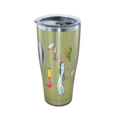 Tervis Fishing Lures 30 oz Stainless Steel Tumbler - Thermos Cups And Koozies at Academy Sports