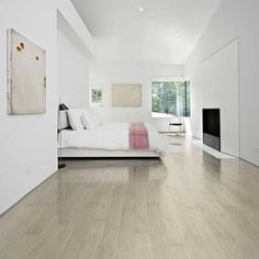 Shine Oak Thick x Wide x Length Engineered Hardwood Flooring Maple Hardwood Floors, Old Wood Floors, Solid Wood Flooring, Engineered Hardwood Flooring, White Flooring, Flooring Store, Parquet Flooring, Flooring Ideas, Laminate Flooring