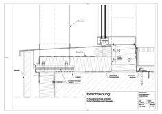 D-02-0005 Fußpunktanschluss an einer hinterlüfteten Natusteinfassade