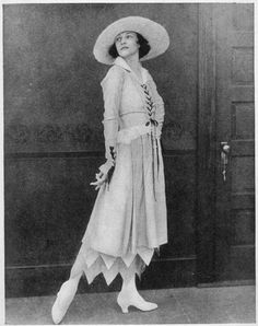 Image result for ladies fashion summer 1915