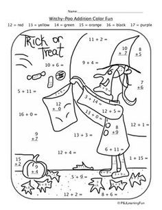 Autumn Halloween Witchy Poo Addition Color Fun