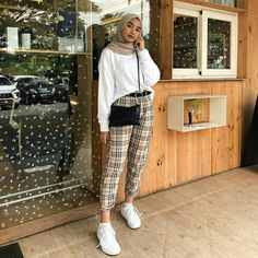 Modest Fashion Hijab, Modern Hijab Fashion, Street Hijab Fashion, Casual Hijab Outfit, Hijab Fashion Inspiration, Hijab Chic, Muslim Fashion, Modest Outfits, Fashion Outfits