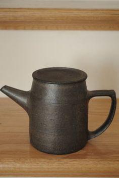 Japanese teapot 清岡幸道「黒ポット」の詳細ページです。#teapot