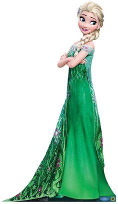 PartyBell.com - Disney Frozen Fever Elsa Standup - 6' Tall