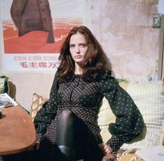 Eva Green as Isabelle in The Dreamers 💯 - - eva_green_aesthetic Eva Green Dreamers, The Dreamers, Dreamers Movie, Eva Green Penny Dreadful, Goth Baby, Haha, Green Fashion, 90s Fashion, Lost Girl
