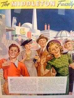 The Middleton Family at the New York World's Fair - 1939 Promo