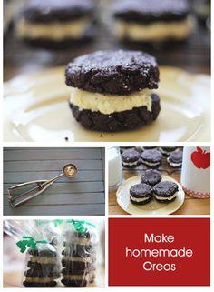 homemade oreo cookies recipe