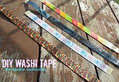 DIY make your own Washi tape!