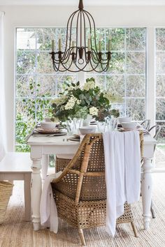 Simple Tips for dressing your home up for the spring season... Farmhouse/Cottage style decor in a home tour.