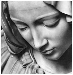 La Pietà vaticana, Michelangelo Buonarroti, 1498-1499, Basilica di San Pietro in Vaticano, Roma.