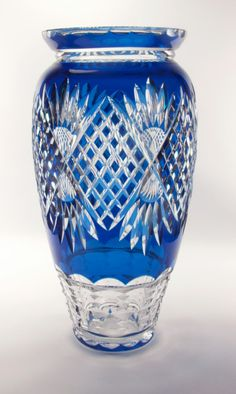 Lambert Crystal Glass Vase image 2 More Crystal Glassware, Crystal Vase, Art Deco, Art Nouveau, Cut Glass, Glass Art, Clear Glass, Tiffany Glass, Vases Decor