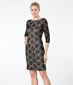 JS Collections RoyaltyInspired Lace Dress #Dillards
