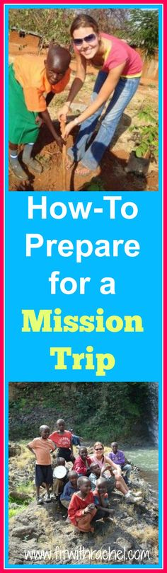 Preparing for a mission trip can be SUPER daunting…especially if you've never been to the country before and you don't know what to expect! EVERY country is different, but I've been on several mission trips (Kenya, Senegal, Ethiopia, Guatemala, and Brazil), as well as lived in some of these countries, married a native, and have led mission trips! So here are some of my top tips on how to prepare for a mission trip! #missions #africa #missiontrip