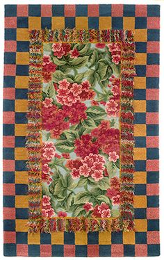 Victoria and Richard Mackenzie Rugs there are 3 left it is call garden patch in the 5 x 8 . NONE after that the beauty of these rugs are the wool piles are high and low . . . and stunning , only at www.fmarks.com