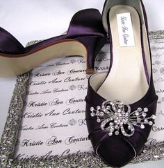Shooting Star Bridal Shoes - Kristie Ann Couture Shoes