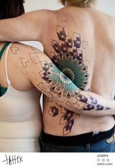 Maïka Zayagata - Mandala Couples Tattoos