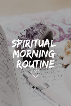 Spiritual Morning Routine