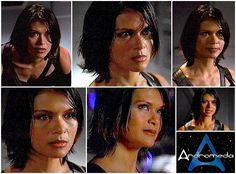 "Nia Peeples in ""Andromeda"" - 2004"