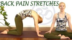 Easy Stretches for Back Pain Relief, Beginners Yoga Exercises for Relaxation & Stress   In this Yoga video workout, Katrina Rupman shares a yoga routine designed to alieve back pain fast. This video is also very relaxing and easy and is great for deep relaxation, stress relief and help with sleep problems. Katrina has a great soft spoken voice coupled with relaxing music for an ASMR experience.