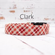Excited to share this item from my shop: Plaid Christmas Dog Collar, Martingale Dog Collars Available With Upgrade, Up To Inch Width Dog Collar, All Collars Are Adjustable Plaid Dog Collars, Pet Collars, Cool Patterns, Fabric Patterns, Martingale Dog Collar, Plaid Christmas, Fabric Design, Valentine Dog, Handmade Items