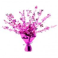 Perfectly Pink 21st Birthday Foil Spray Centrepiece $9.95 EM141 Wholesale Party Supplies, Printed Balloons, 21st Birthday, Centerpieces, Pink, Rose, Table Centerpieces