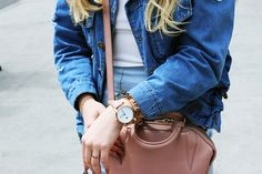 OUTFIT OF THE DAY | Patched Denim Jacket + NYC Lookbook