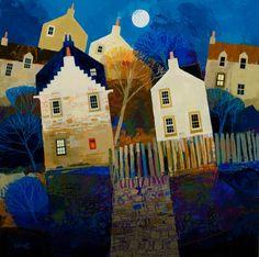 George Birrell, Scottish Artist ~ East Neuk