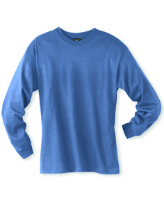 Hanes Mens Ringspun Cotton Beefy-T Long Sleeve T-Shirt 5186