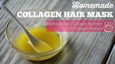 Collagen Hair Mask Recipe - DIY Collagen Treatment