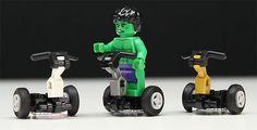 In this LEGO tutorial Jason shows you how to make a LEGO Segway. Lego Pictures, Lego Vehicles, Lego Mecha, Lego For Kids, Lego Room, Lego Design, Lego Projects, Custom Lego, Lego Stuff