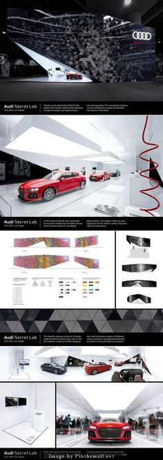 audi secret lab CES Las vegas 2014 exhibition design... - a grouped images picture - Pin Them All:
