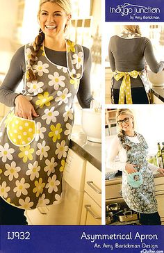 Asymmetrical Apron    - Pattern by Amy Barickman of Indygo Junction