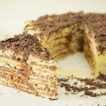 Receita de Bolo de Bolacha de Chocolate - Receitas Já, rapidas, faceis e simples Culinária para todos!!!