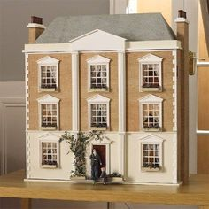 Buy dolls house kits from the online dolls house superstore. We stock traditional victorian dolls houses, georgian dolls house kits and modern dollhouse kits basements Dollhouse Kits, Modern Dollhouse, Dollhouse Miniatures, Dollhouse Design, Victorian Dollhouse, Victorian House, Kit Homes, Style At Home, Fairy Houses