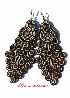 Sutasz Kleo /Soutache jewellery: Sutasz Doris