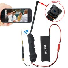 Wiseup 8GB 1280x720P HD Mini Wifi Network Spy Camera Module Motion Activated SD…