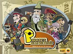 Pirates de la vie privée - Un questionnaire sur le thème des pirates apprenant aux enfants à protéger leurs renseignements en ligne